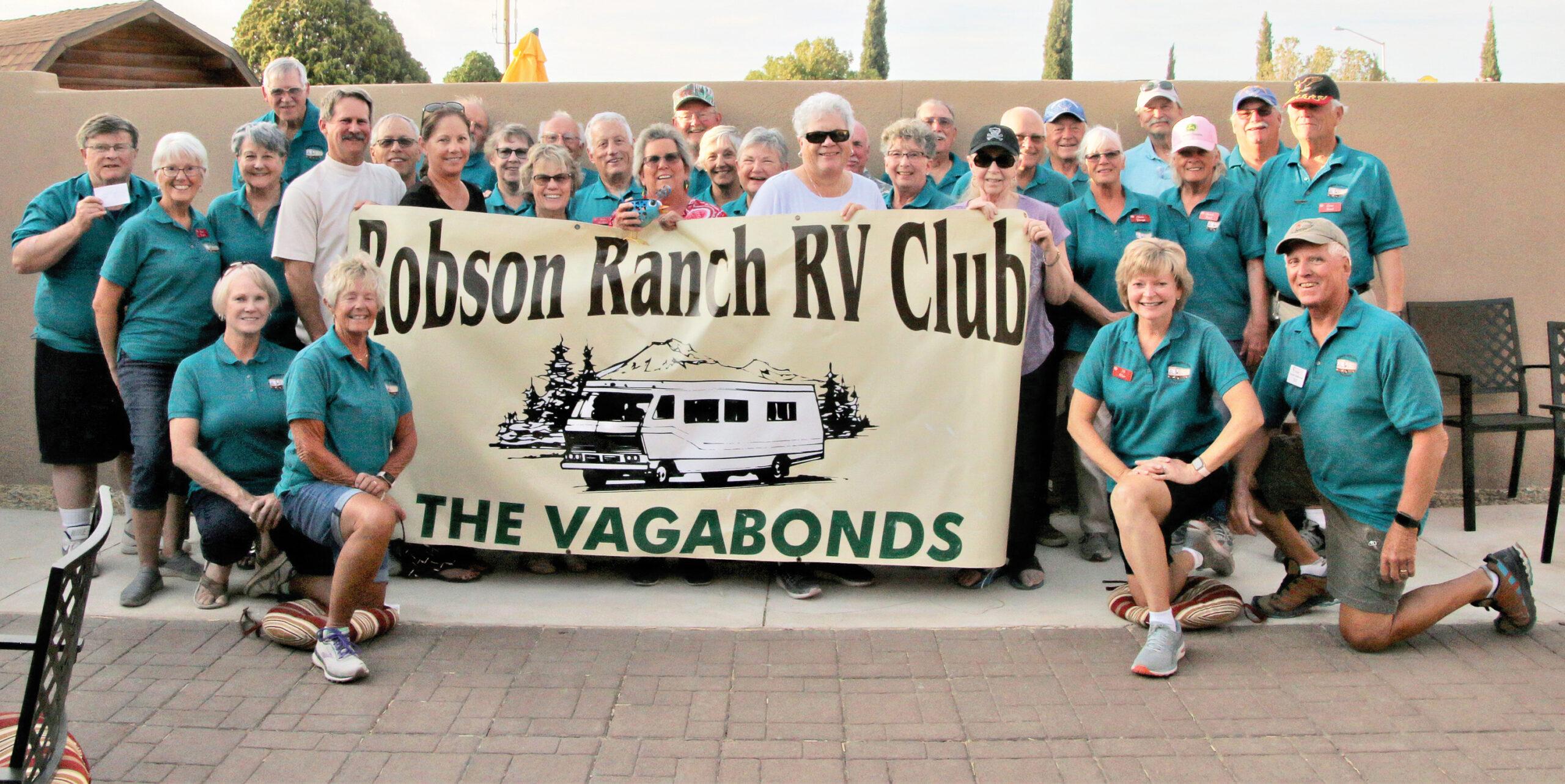 Vagabonds Willcox Rally April 2021 group photo