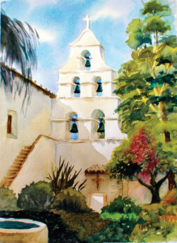 San Diego Mission Tower