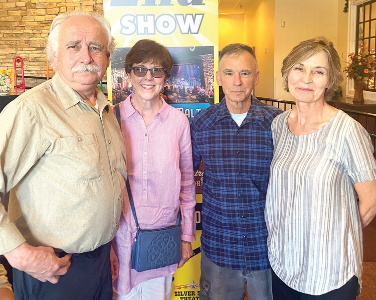 Mike and Mary Anne Sandoval with John Weil and Phyllis Wise